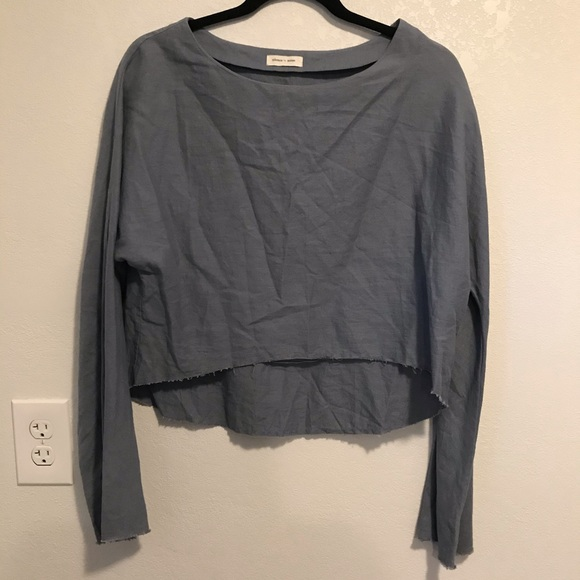 Urban Outfitters Tops - Silence + Noise long sleeve crop top